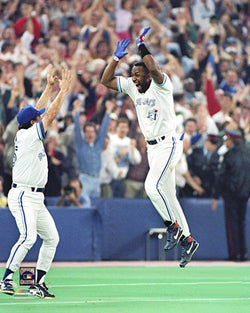 "Joe Carter ""Touch 'em All"" (1993 World Series) Premium Poster Print - Photofile"