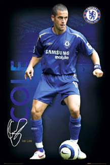 "Joe Cole ""Signature Series"" - GB Posters 2005"