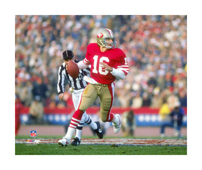 "Joe Montana ""Super Bowl Classic"" (1985) Giclee-on-Canvas - Photofile"