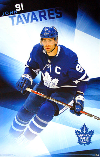 "John Tavares ""The Captain"" Toronto Maple Leafs Official NHL Wall POSTER - Trends 2019"