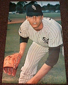 "Tommy John ""White Sox"" - Major League Posters 1968"
