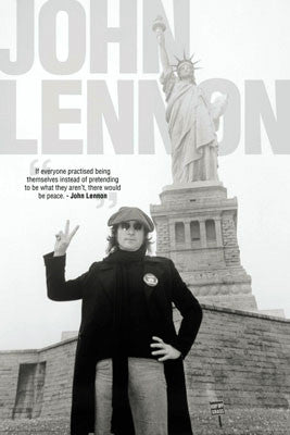 "John Lennon ""Liberty and Peace"" - Aquarius Images"