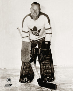 Johnny Bower Toronto Maple Leafs Classic c.1961 Premium Poster Print - Photofile Inc.