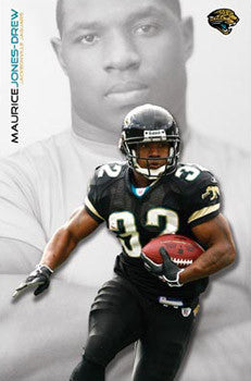 "Maurice Jones-Drew ""Superstar"" Jacksonville Jaguars NFL Action Poster - Costacos 2008"