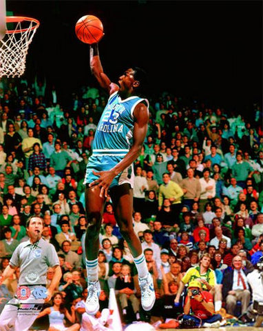 "Michael Jordan ""Phenom"" (1981) North Carolina Tar Heels Poster - Photofile Inc."