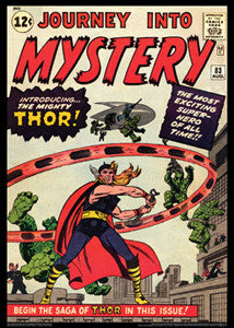 Journey Into Mystery #83 Introducing THOR (Aug. 1962) Cover POSTER Print - Asgard Press