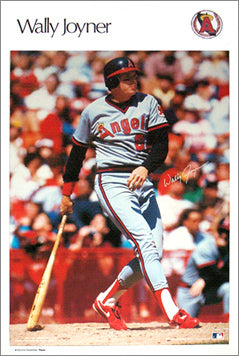"Wally Joyner ""Angels Classic"" (1987) Sports Illustrated Poster - Marketcom Inc."