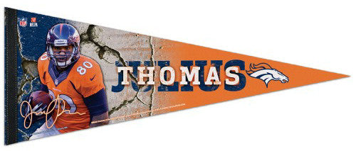 "Julius Thomas ""Signature Series"" Denver Broncos Premium Felt Collector's Pennant - Wincraft"