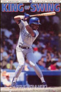 "Julio Franco ""King of Swing"" - Costacos 1991"