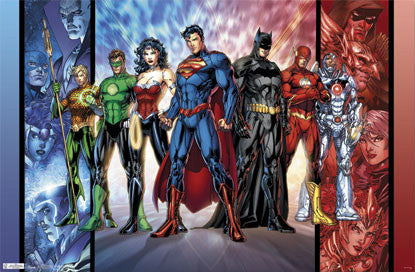 "Justice League ""Reboot"" (The New 52) DC Comics Poster - Trends Int'l. 2011"