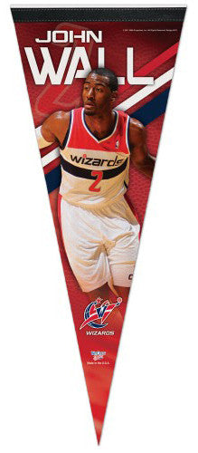 "John Wall ""Wizards Action"" Premium Felt Collector's Pennant - Wincraft"