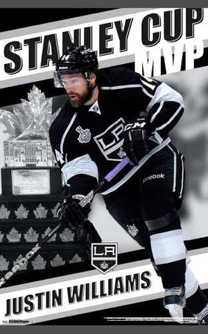"Justin Williams ""MVP"" 2014 Stanley Cup Conn Smythe Winner Poster"