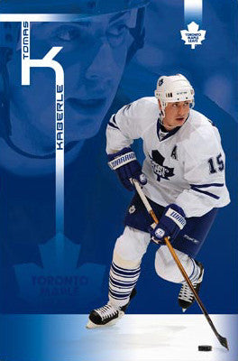 "Tomas Kaberle ""Defender"" Toronto Maple Leafs Poster - Costacos 2008"