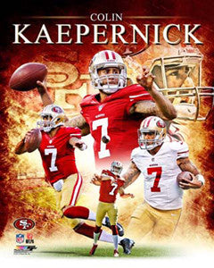 "Colin Kaepernick ""Portrait Plus"" Premium Poster Print - Photofile 16x20"