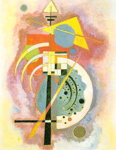 """Hommage a Grohmann"" by Wassily Kandinsky 16x20 Print - Eurographics"