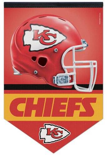 Kansas City Chiefs NFL Football Premium Felt WALL BANNER - Wincraft Inc.