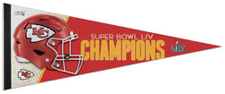 Kansas City Chiefs Super Bowl LIV (2020) Champions Premium Felt Collector's Pennant - Wincraft Inc.