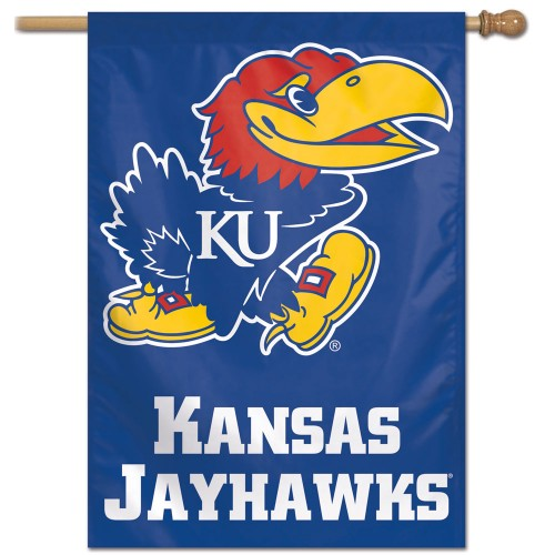 Kansas Jayhawks Official NCAA Premium 28x40 Wall Banner - Wincraft Inc.