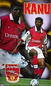 "Nwankwo Kanu ""Striker"" - Starline Inc. 1999"