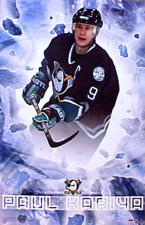 "Paul Kariya ""Blast"" Anaheim Mighty Ducks Poster - Starline 2001"