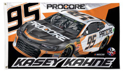 Kasey Kahne NASCAR 2018 LFR Procore #95 Deluxe-Edition 3'x5' Flag - Wincraft