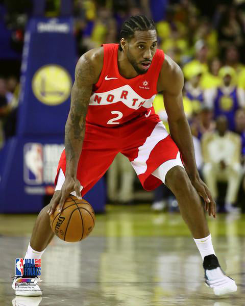 "Kawhi Leonard ""Finals Legend"" Toronto Raptors NBA Basketball Premium Poster Print - Photofile 16x20"