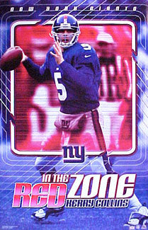 "Kerry Collins ""Red Zone"" - Starline 2001"
