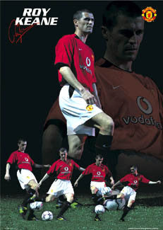 "Roy Keane ""Black Magic"" - GB Posters 2002"