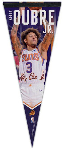 "Kelly Oubre Jr. ""Signature Series"" Phoenix Suns Premium Felt Collector's PENNANT - Wincraft 2020"