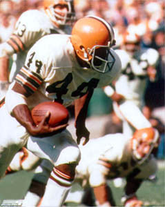 "Leroy Kelly ""Browns Legend"" (c.1968) Cleveland Browns Premium Poster Print - Photofile Inc."