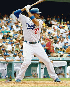 "Matt Kemp ""Slugger"" Los Angeles Dodgers Premium Poster Print - Photofile 16x20"