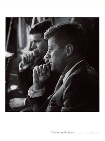 "JFK and Bobby ""The Kennedy Years"" Poster Print  (by Stanley Tetrick)"