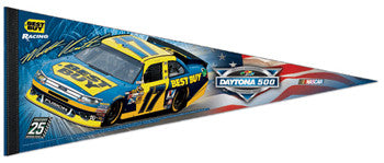 Matt Kenseth 2012 Daytona 500 Champion Premium Collector's Pennant