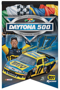 Matt Kenseth 2012 Daytona 500 Champion Commemorative Banner - Wincraft