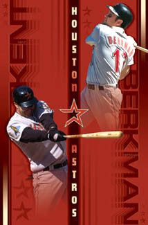 "Houston Astros ""Duo"" (Kent & Berkman) - Costacos 2003"