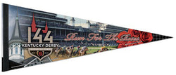 The 144th Kentucky Derby (2018) Official Premium Felt Commemorative Pennant - Wincraft