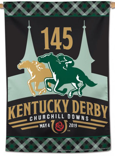The 145th Kentucky Derby (2019) Official Premium 28x40 Collectors Wall Banner - Wincraft Inc.
