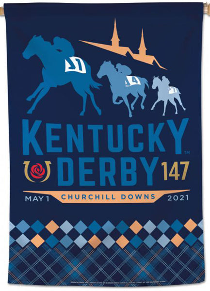The 147th Kentucky Derby (2021) Official Premium 28x40 Collectors Wall Banner - Wincraft Inc.
