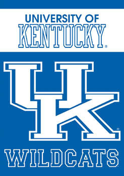 "University of Kentucky ""UK"" Wall Scroll - BSI Products"