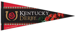The Kentucky Derby Run For The Roses Official Premium Felt Commemorative Pennant - Wincraft