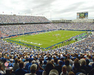Kentucky Wildcats Football at Commonwealth Stadium - Photofile 16x20