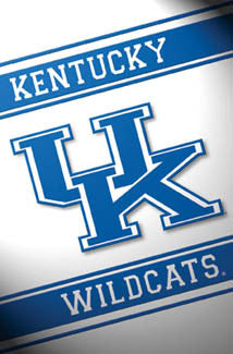 University of Kentucky Wildcats UK Official NCAA Logo Poster - Costacos Sports