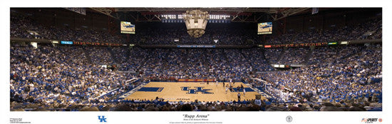 Kentucky Wildcats Basketball Rupp Arena Panorama - USA Sports Inc.