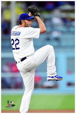 Clayton Kershaw Poster Perfection Collection #1 L.A. Dodgers Premium 24x36 Poster Print - Photofile
