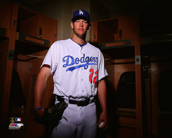 "Clayton Kershaw ""Ready for Action"" Los Angeles Dodgers Premium MLB Poster Print - Photofile 16x20"