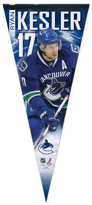 "Ryan Kesler ""Big-Time"" EXTRA-LARGE Premium Felt Pennant"