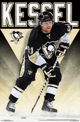"Phil Kessel ""Sniper"" Pittsburgh Penguins NHL Hockey Wall Poster - Trends 2016"