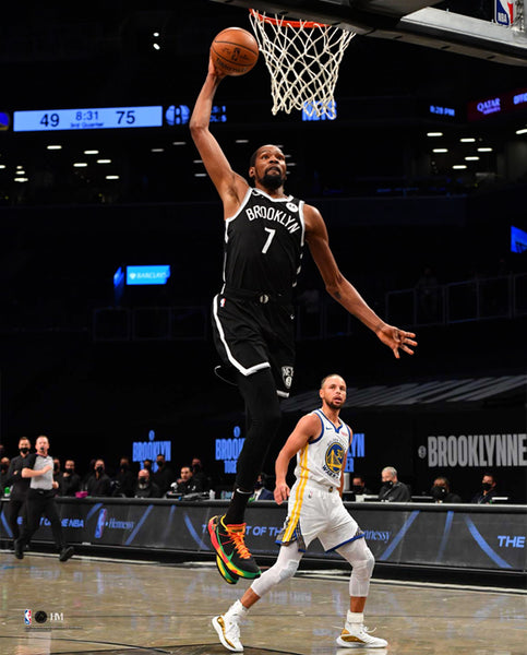 "Kevin Durant ""Brooklyn Slam"" Brooklyn Nets Premium 16x20 NBA Basketball Poster Print- Highland Mint"