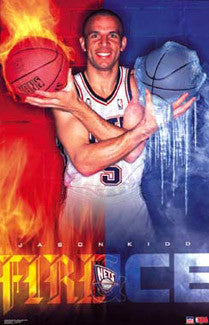 "Jason Kidd ""Fire & Ice"" - Starline 2002"