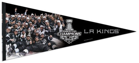 "L.A. Kings 2014 Stanley Cup ""Celebration on Ice"" Extra-Large Premium Felt Pennant"